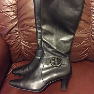 Black AKanne Klein Iflex  Calf height boots